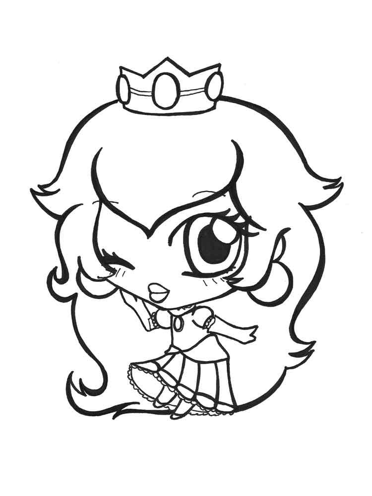 Baby Princess coloring pages Free Printable Baby Princess
