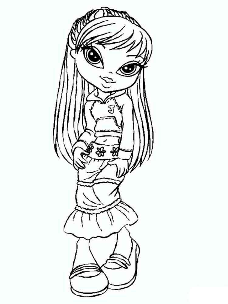 Bratz coloring pages Download