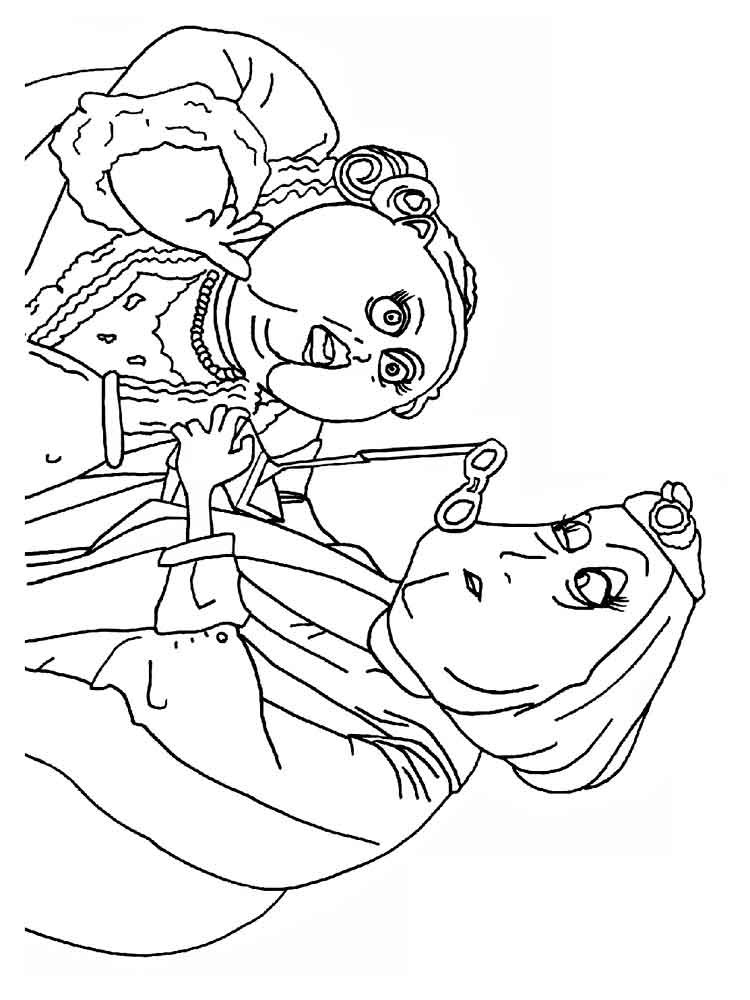 It's just a picture of Mesmerizing coraline coloring pages