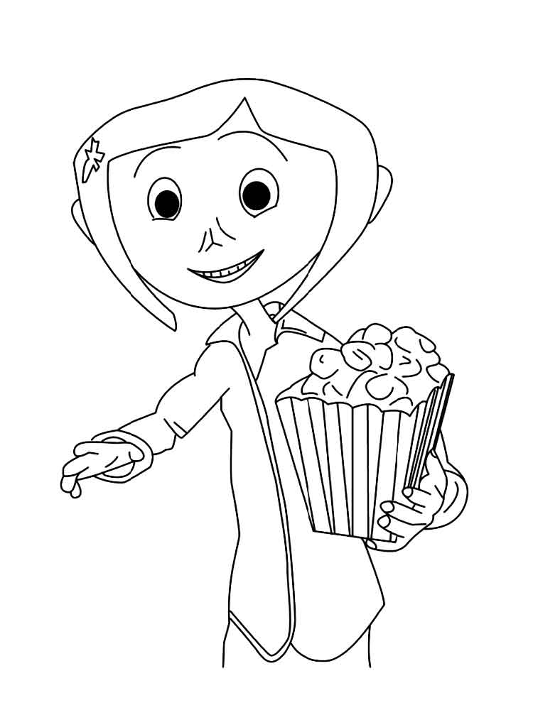 Coraline coloring pages. Free Printable Coraline coloring ...