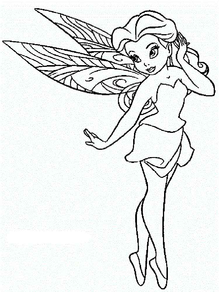 Disney Fairy Silvermist coloring pages. Free Printable ...