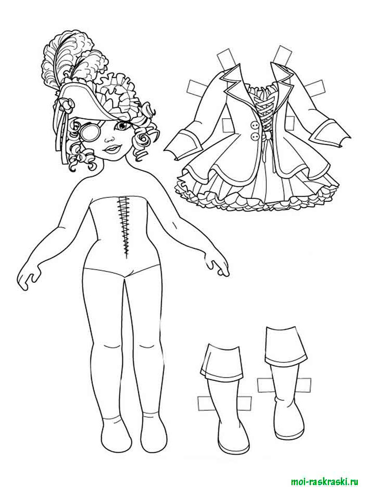 Dolls Coloring Pages Free Printable Dolls Coloring Pages