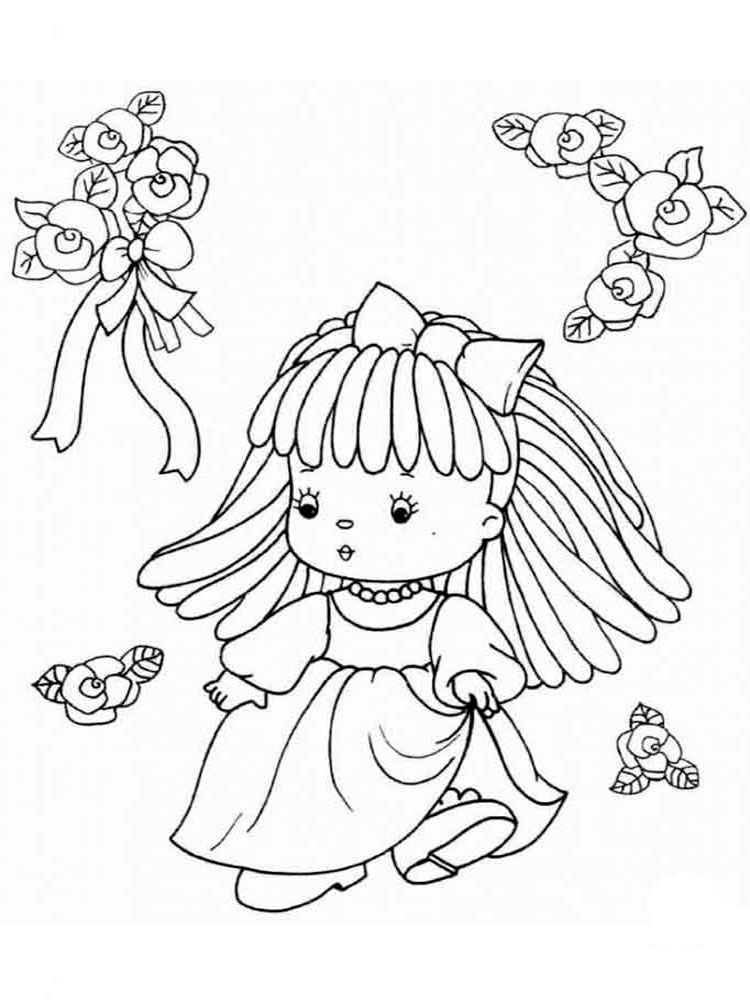 myscene dolls coloring pages - photo#25
