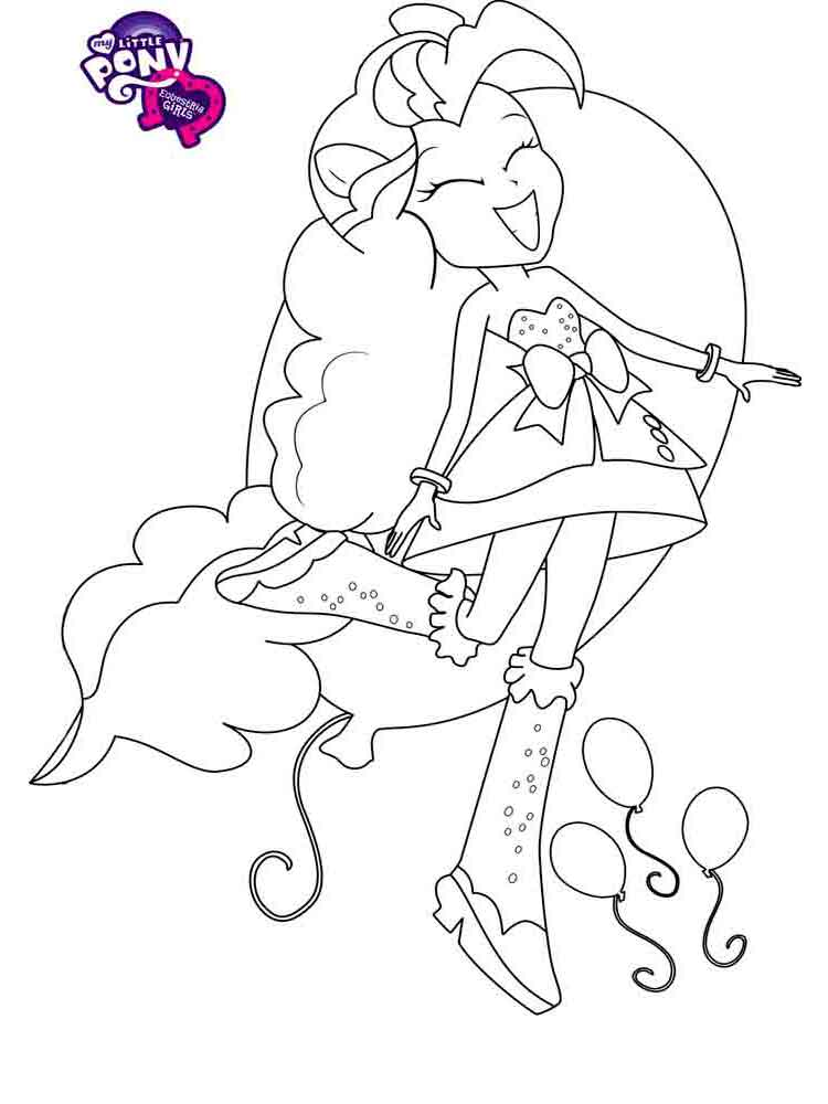 Equestria Girls Coloring Pages Download And Print