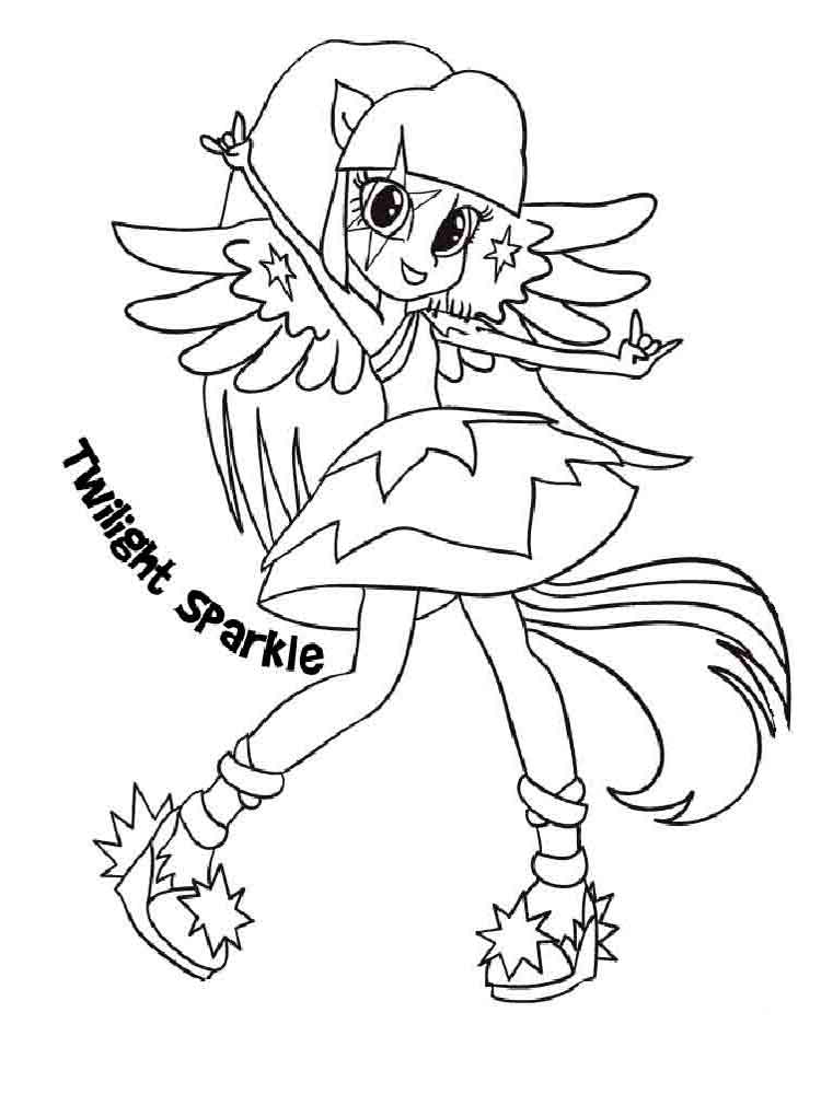 Equestria girls coloring pages. Download and print ...