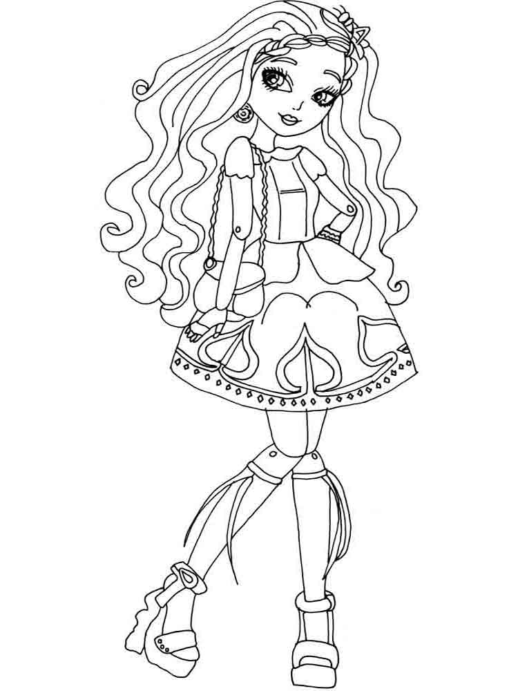 Ever after high coloring pages. Download and print Ever after high ...