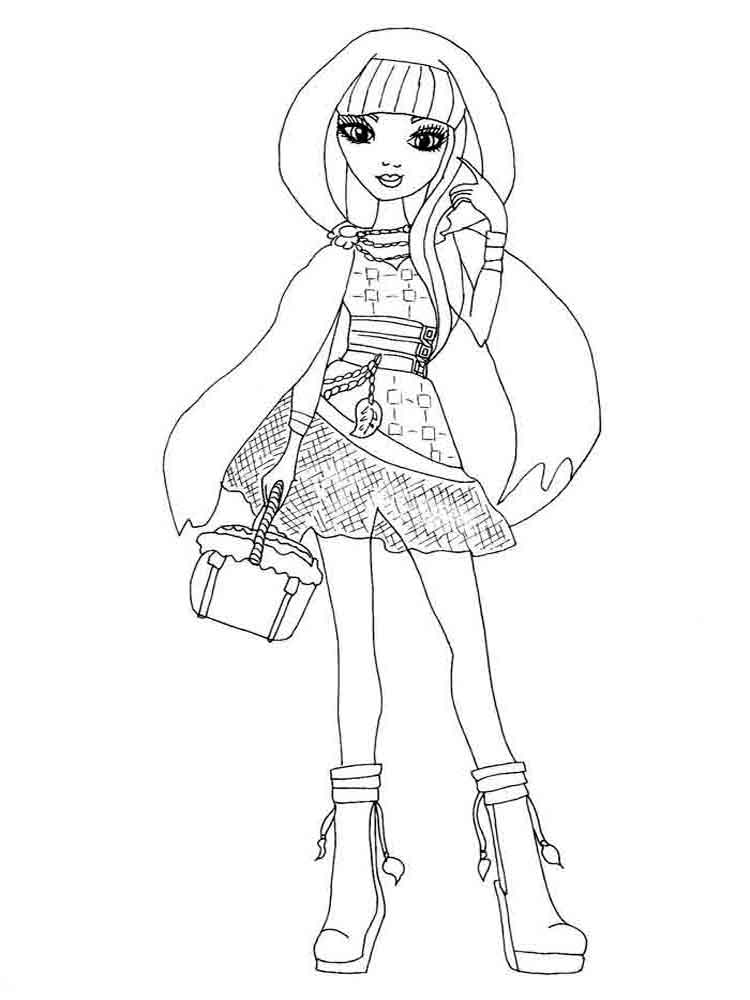 Colouring Pages Ever After High Ever After High 2