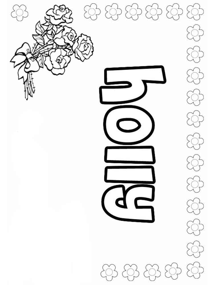 Girls names coloring pages free printable girls names for Coloring pages names