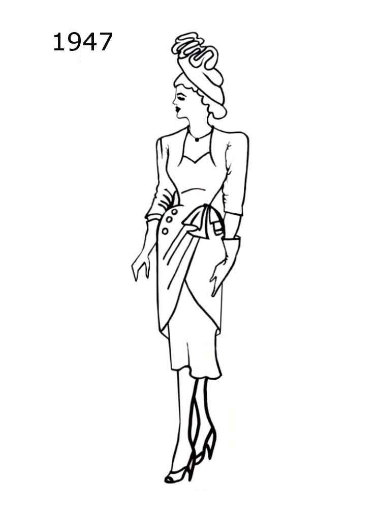 Jemand den fashion girl coloring pages has