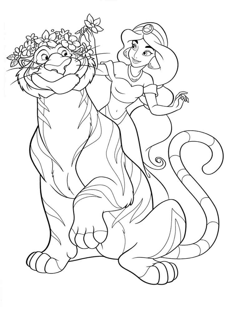 Jasmine coloring pages. Free Printable Jasmine coloring pages.