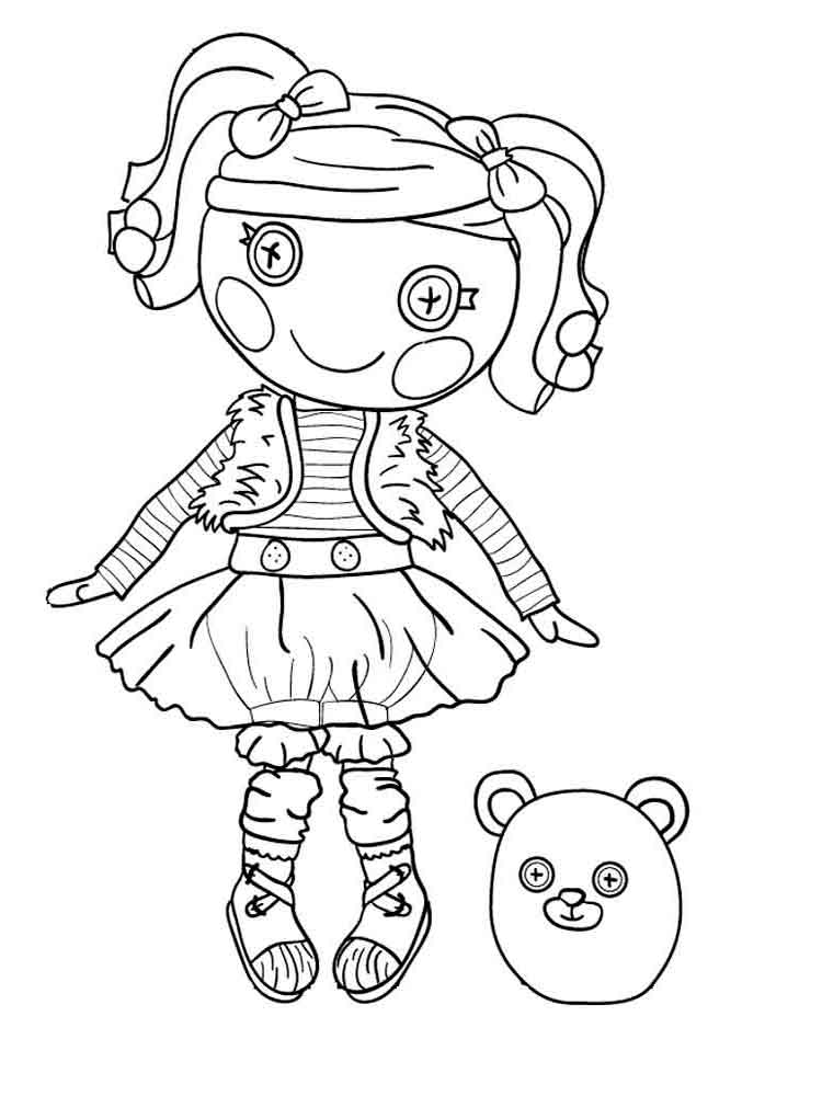 Lalaloopsy coloring pages. Download and print Lalaloopsy coloring pages.