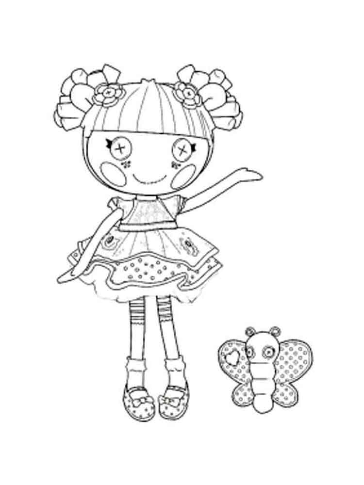 lalaloopsy coloring pages 2 - Lalaloopsy Coloring Pages