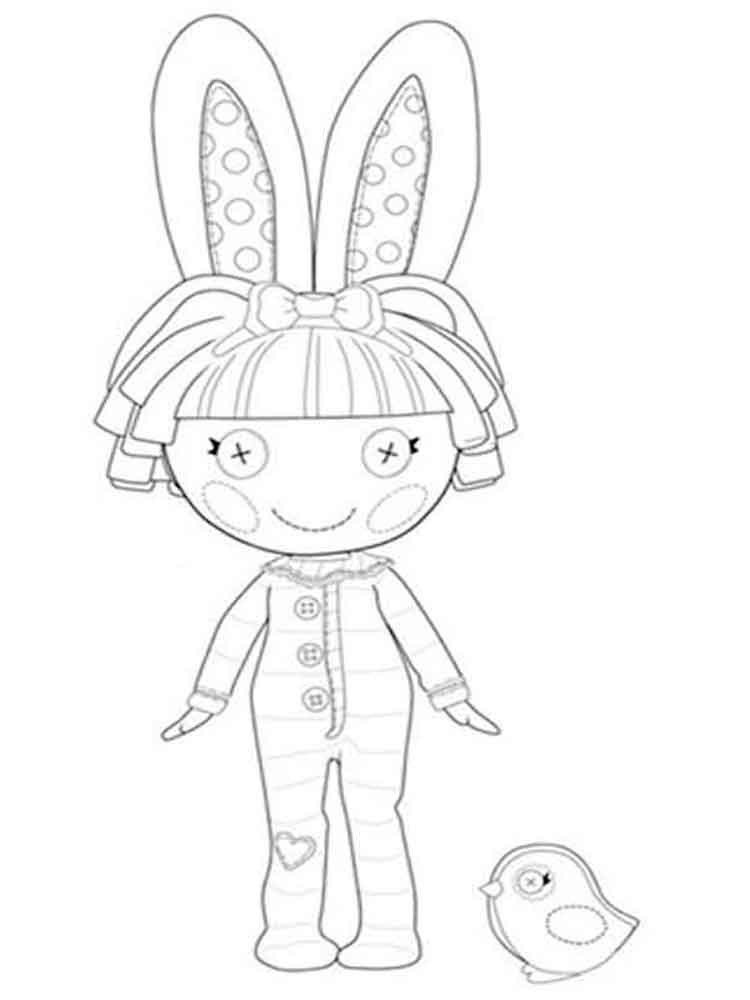 Lalaloopsy coloring pages. Download and print Lalaloopsy coloring ...