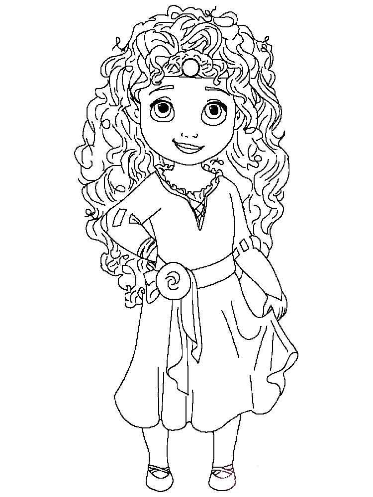 Little Princess For Girls Coloring