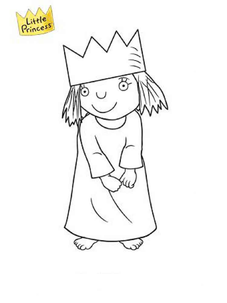 Little Princess Coloring Pages Free Printable Little