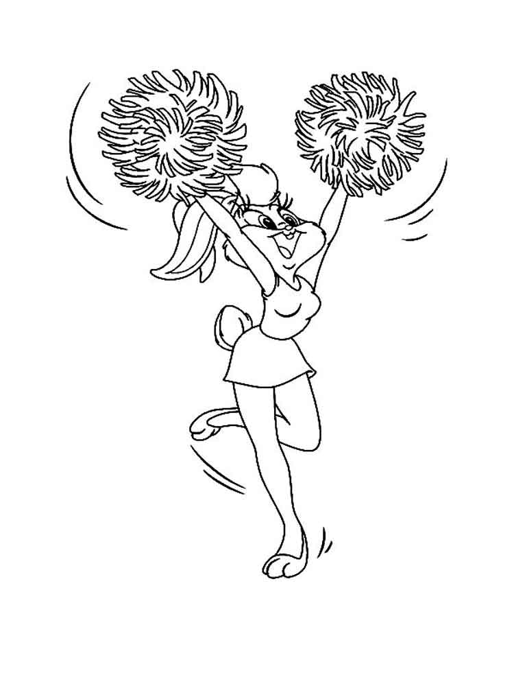 Lola Bunny coloring pages. Free Printable Lola Bunny ...