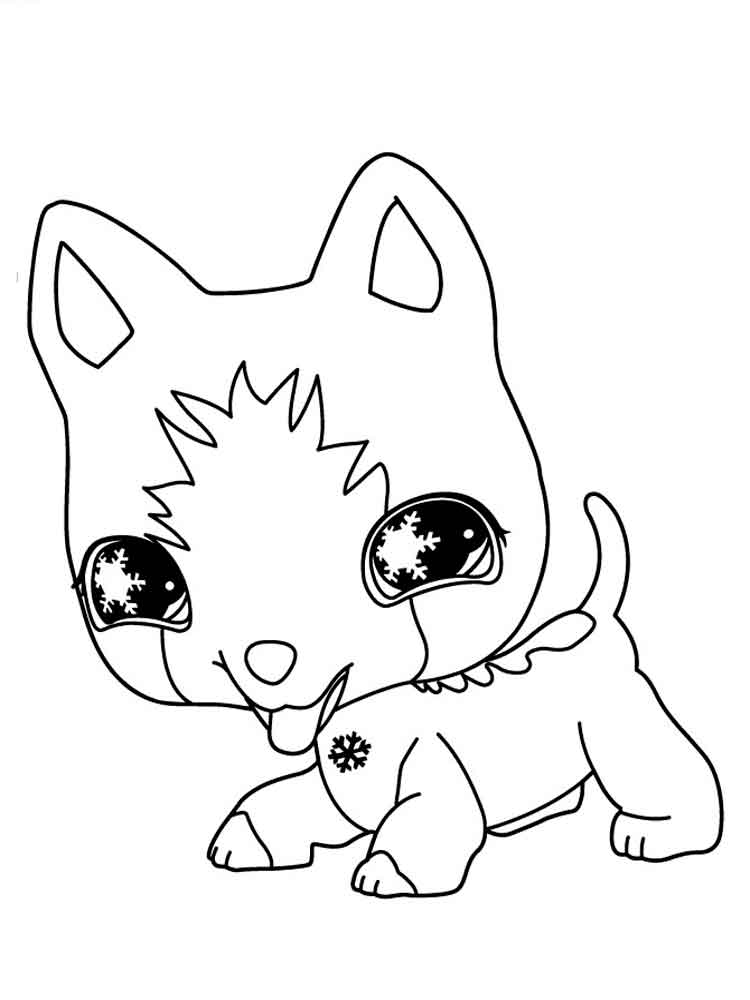 LPS Coloring Pages Free Printable LPS Coloring Pages