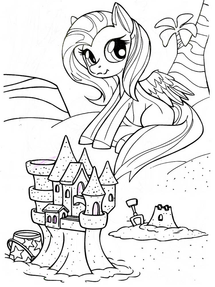 My little pony coloring pages. Download and print My ...