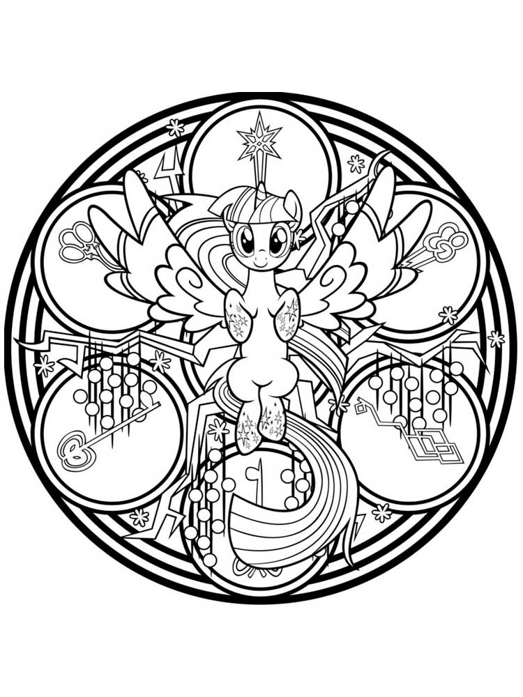 my little pony coloring pages 14 - Image Coloring