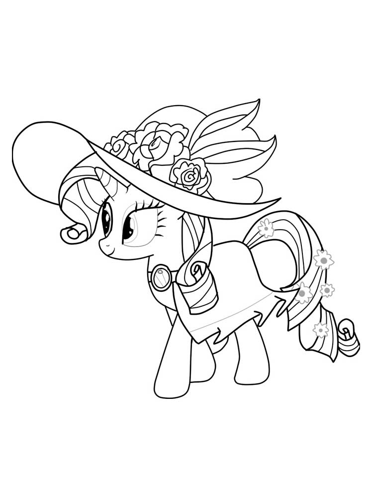My Little Pony Coloring Pages Download And Print My