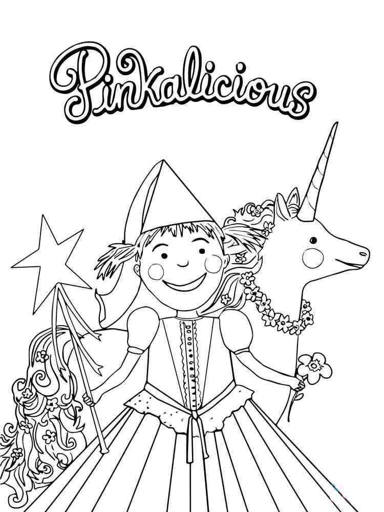 Pinkalicious coloring pages. Free Printable Pinkalicious ...