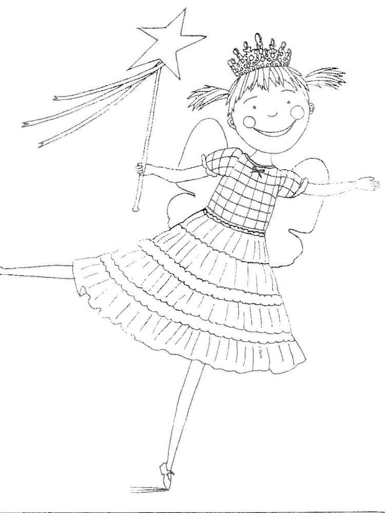 Pinkalicious coloring pages. Free Printable Pinkalicious ...
