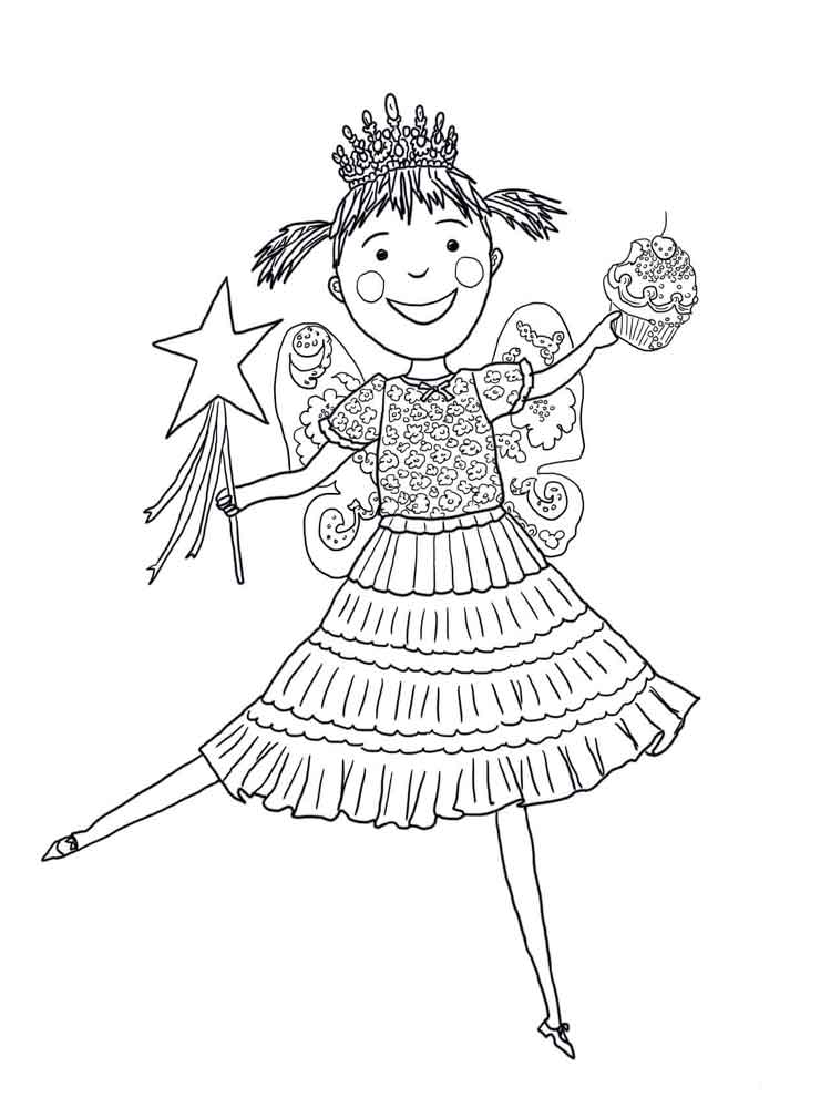 Pinkalicious coloring pages Free
