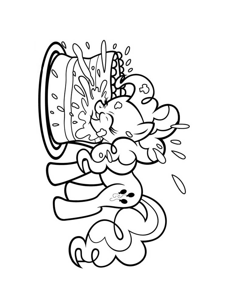 printable pinkie pie coloring pages - photo#26