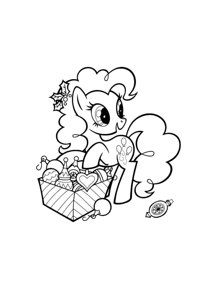 My Little Pony Pinkie Pie Coloring Pages Printable | 1000x750