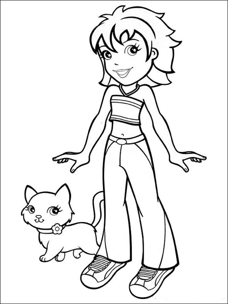 ... Polly Pocket Coloring Pages 2 ...