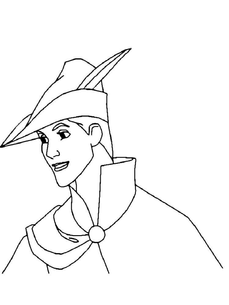 disney prince phillip coloring pages - photo#15