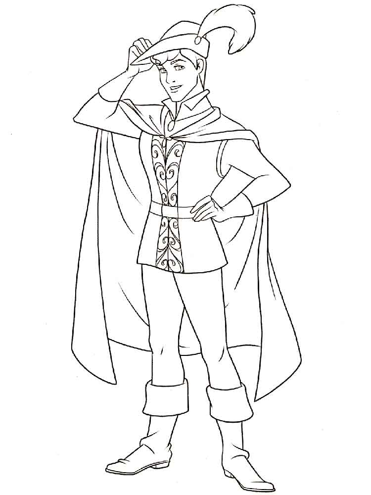 Prince Phillip coloring pages Free Printable Prince