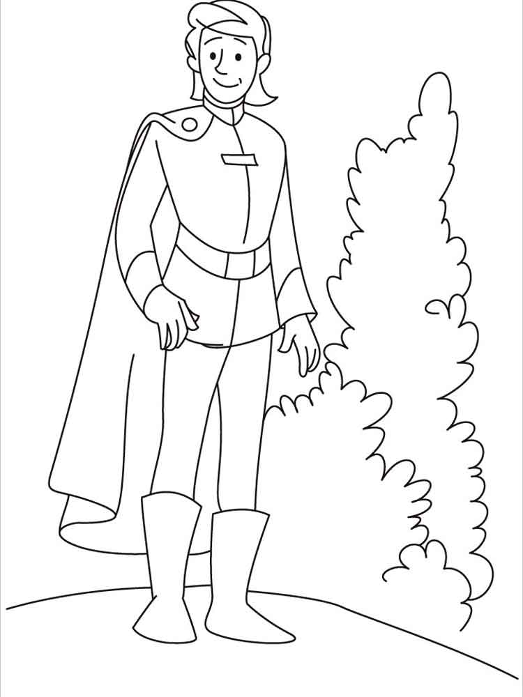 prince coloring pages 2 - Prince Coloring Pages 2