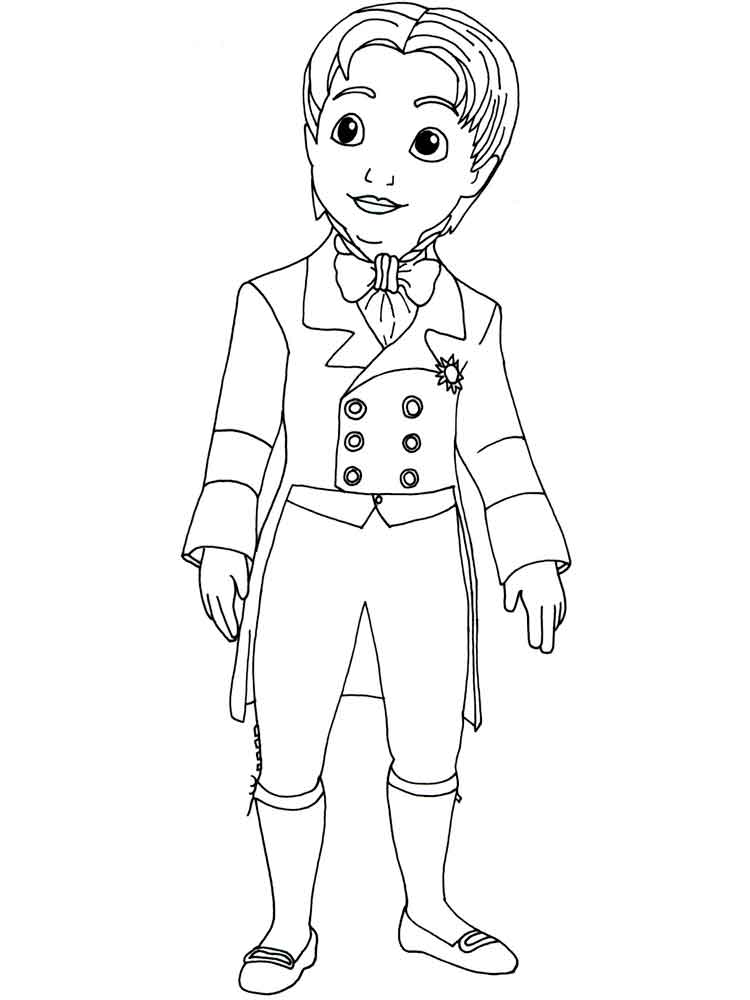 Prince Coloring Pages Free Printable Prince Coloring Pages