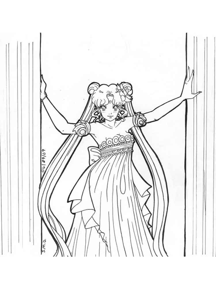queen serenity coloring pages | Princess Serenity coloring pages. Free Printable BPrincess ...