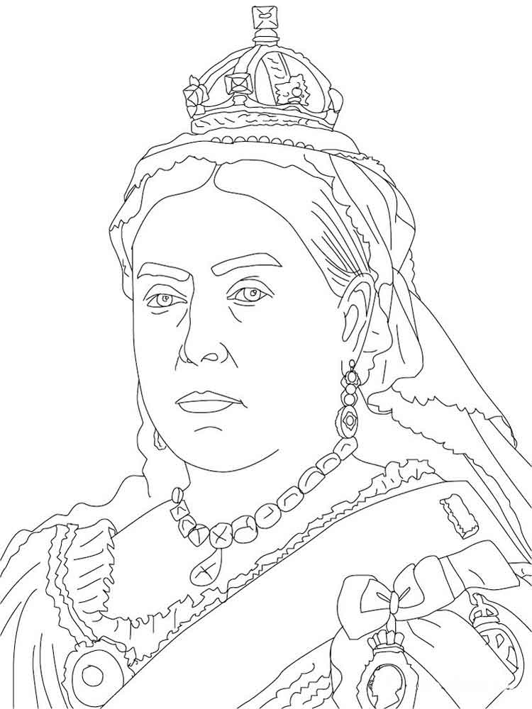 Queen coloring pages Free Printable Queen coloring pages