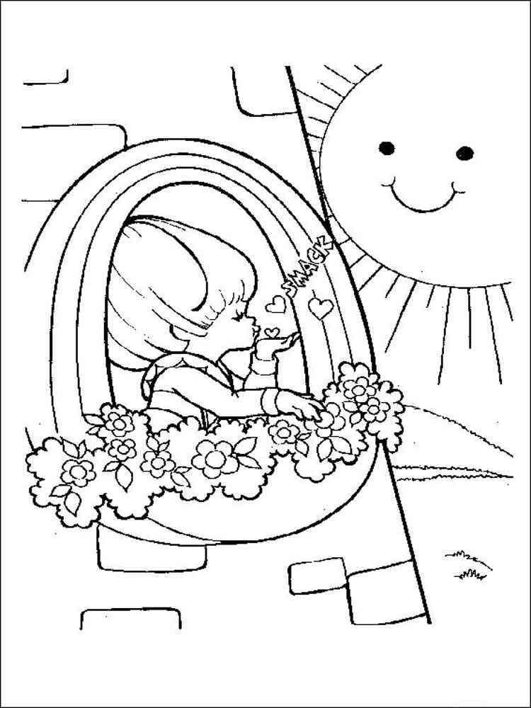 Rainbow Brite coloring pages. Free Printable Rainbow Brite ...