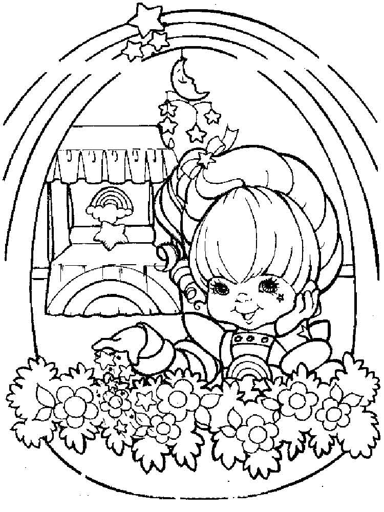 Rainbow Brite coloring pages. Free Printable Rainbow Brite coloring ...