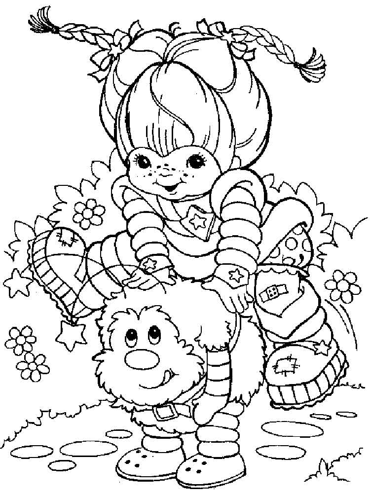Coloring pages rainbow brite ~ Rainbow Brite coloring pages. Free Printable Rainbow Brite ...