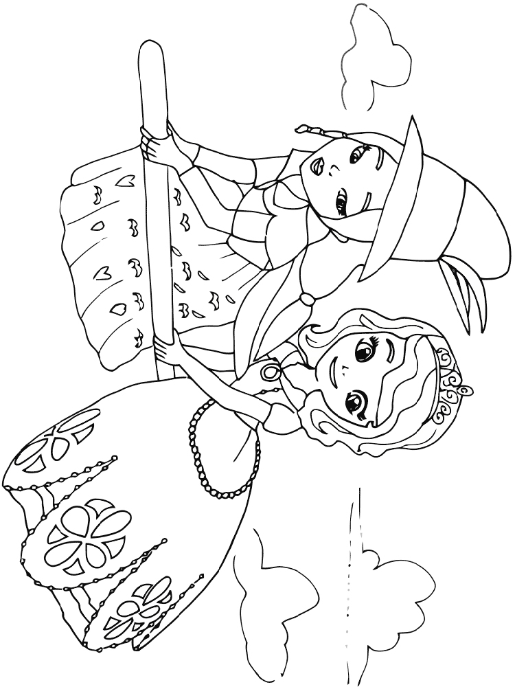 Sofia the First coloring pages. Free Printable Sofia the ...