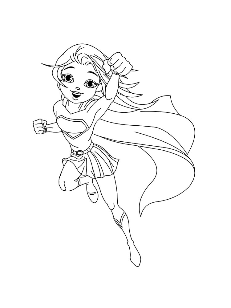 - Supergirl Coloring Pages. Free Printable Supergirl Coloring Pages.