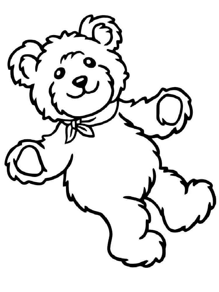 teddy bears coloring pages 19