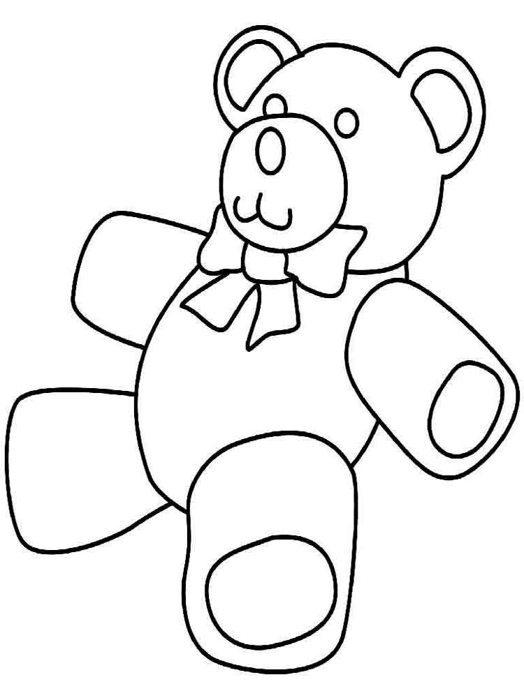 Teddy bears coloring pages Download