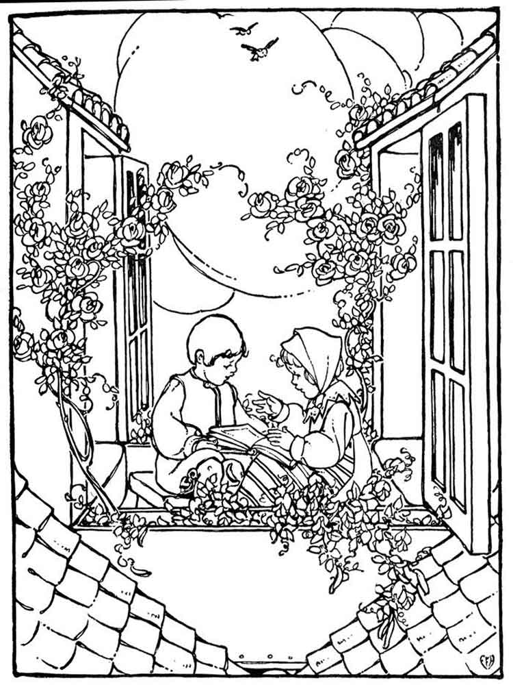 the snow queen coloring pages 1