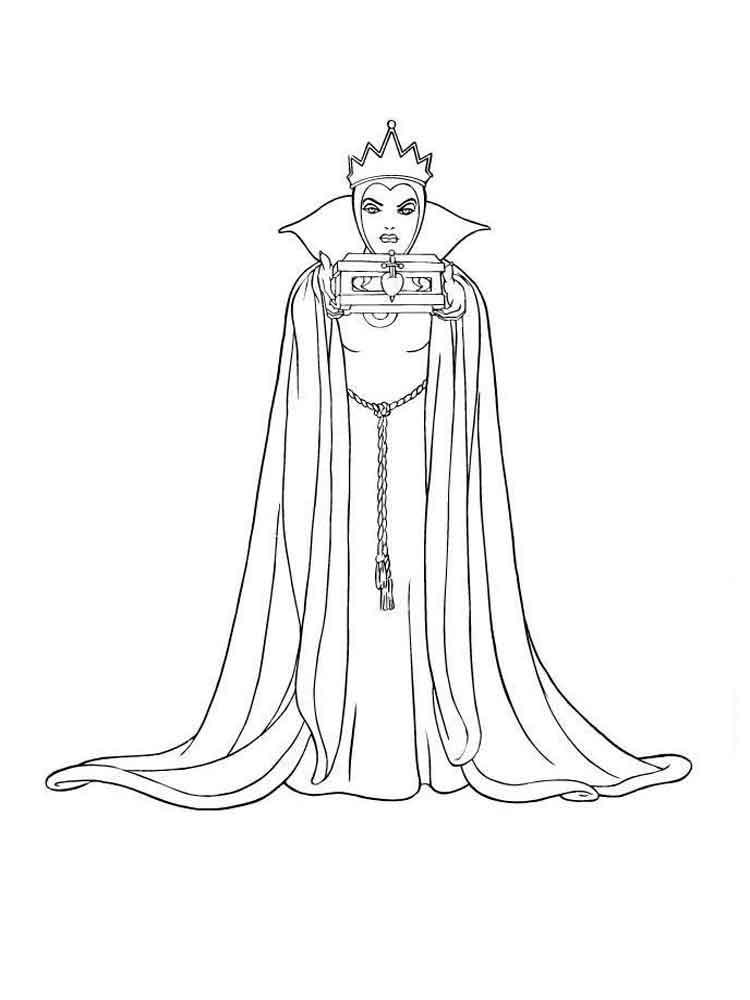 The Snow Queen Coloring Pages 12