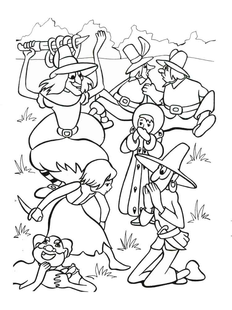 The Snow Queen coloring pages. Free Printable The Snow ...