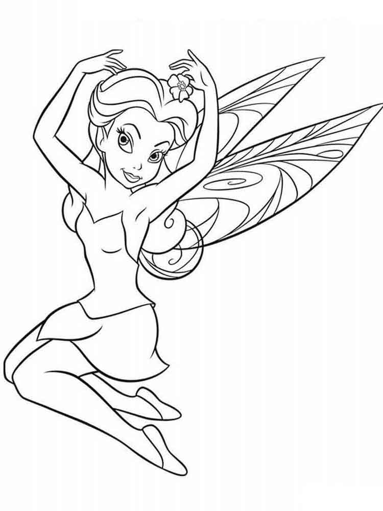 tinkerbell coloring pages 13 - Coloring Pages Tinkerbell