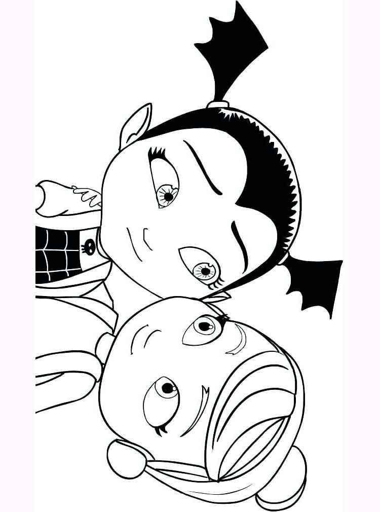 Free printable Vampirina coloring