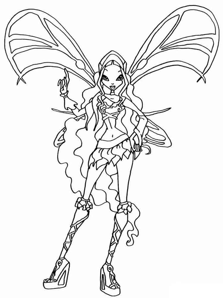 winx club coloring pages lovix - photo#17