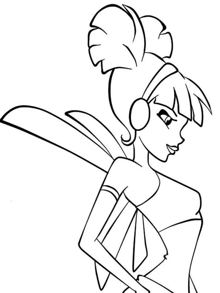 musa winx coloring pages - photo#39